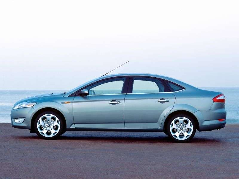 Ford Mondeo 4th generation sedan 2.2 TDCi DPF DurashiftMT (2008–2010)