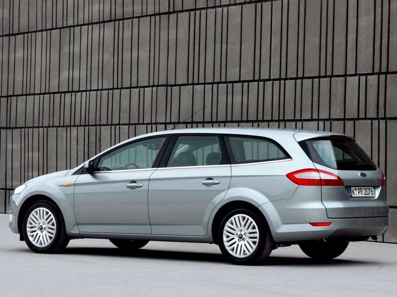 Ford Mondeo 4th generation wagon 2.0 TDCi DurashiftMT (2010–2010)