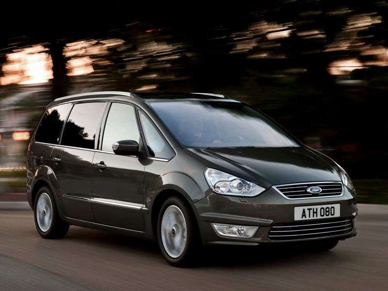 Ford Galaxy 2nd generation [restyled] minivan 2.0 TDCi MT Trend (2012) (2010 – n.)