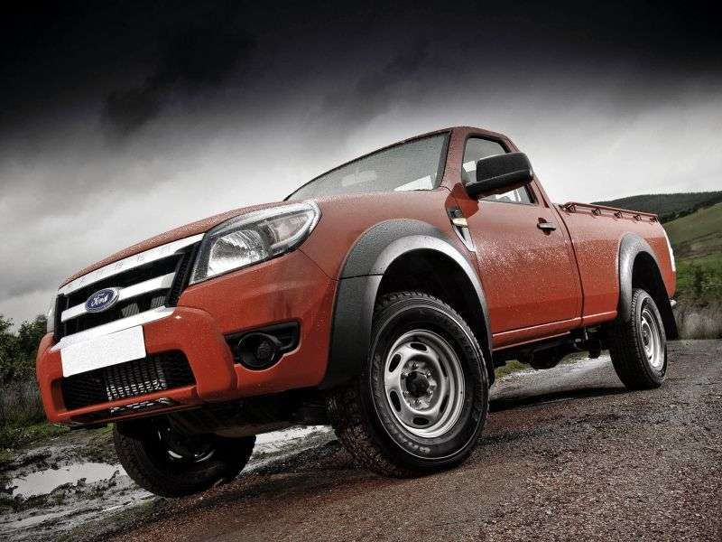 Ford Ranger 4 generation Single Cab pickup 2 bit. 2.5 TD MT Chassis (2009–2011)