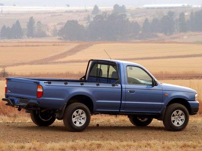 Ford Ranger 2 generation Regular Cab 2 bit pickup. 2.5 TD MT (2003–2006)
