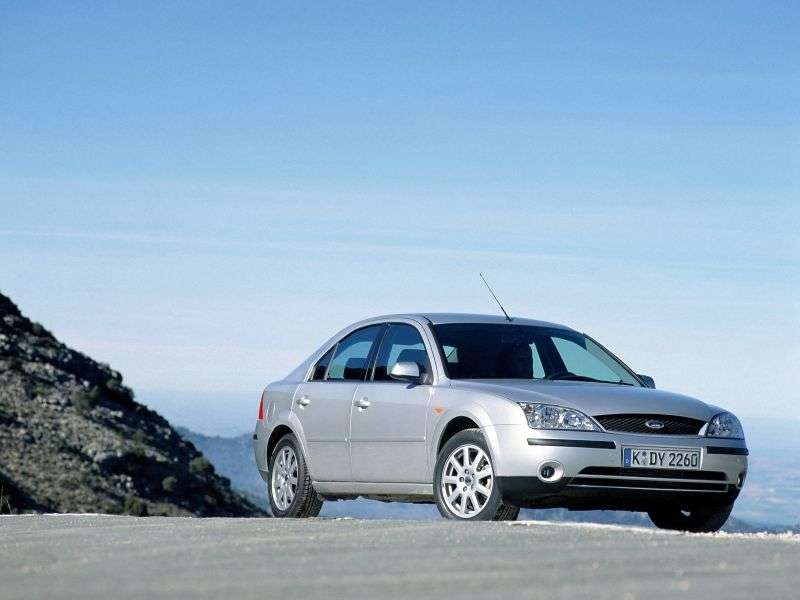 Ford Mondeo 3rd generation hatchback 2.0 TDCi 5MT (2002–2003)