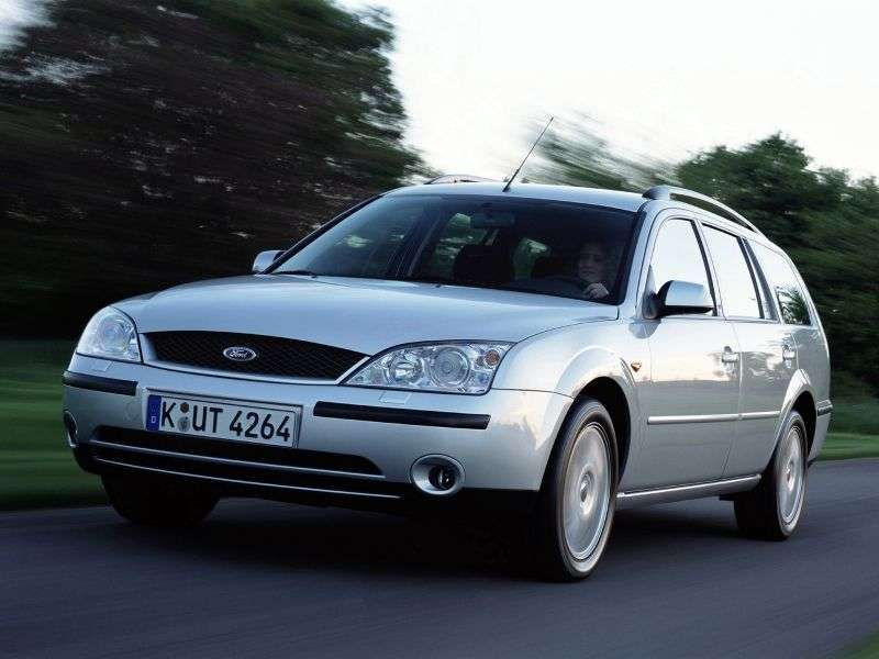Ford Mondeo 3rd generation wagon 2.5 Durashift (2003–2005)