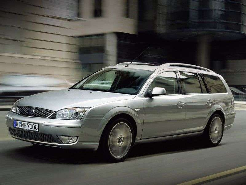 Ford Mondeo 3 generation [restyling] wagon 5 dv. 3.0 ST220 MT (2005–2007)