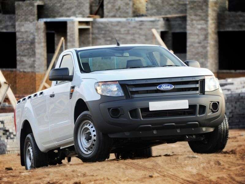 Ford Ranger 5 generation Single Cab pick up 2 bit. 3.2 TD AT (2012 – current century)