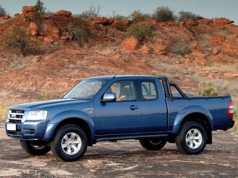 Ford Ranger 3 generation RapCab pickup 2 bit. 2.5 TD MT (2007–2009)