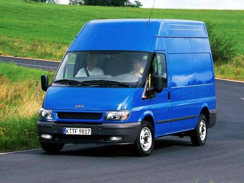 Ford Transit VAN van 5 generacji 2.0 CDi MT SWB (2000 2006)