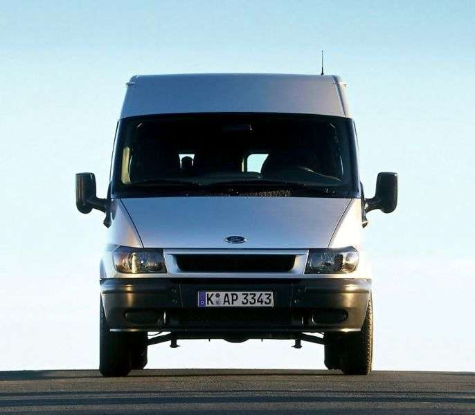 Ford Transit 5th generation Minibus 2.4 CDi MT SWB (2000–2006)