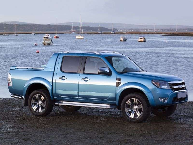 Ford Ranger 4 generation Double Cab pickup 4 bit. 3.0 TD AT 4x4 (2009–2011)