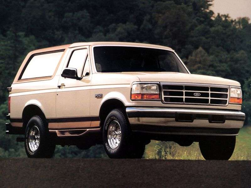 Ford Bronco 5th generation SUV 5.8 AT (1992–1998)