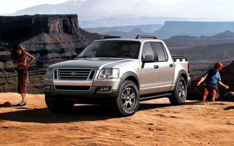 Ford Explorer Sport Trac 2nd generation pickup 4.0 AT (2006–2010)