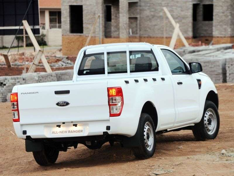 Ford Ranger 5 generation Single Cab pick up 2 bit. 2.2 TD MT (2012 – current century)
