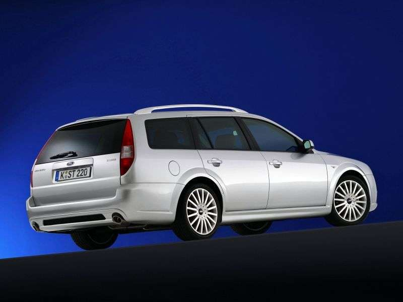 Ford Mondeo 3rd generation wagon 2.0 TDCi 6MT (2003–2005)