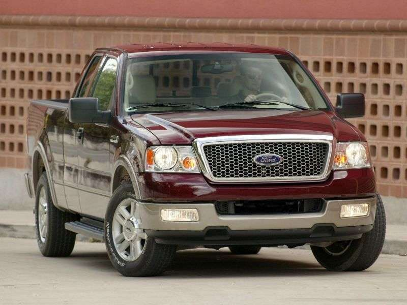 Ford F 150 9th generation Super Crew pickup 4 bit. 4.6 AT Small 4WD (2003–2007)