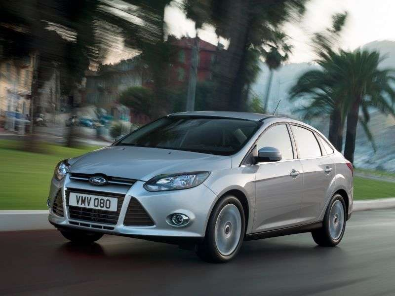 Ford Focus 3 generation sedan 1.6 PowerShift Titanium (2013) (2011 – n. In.)
