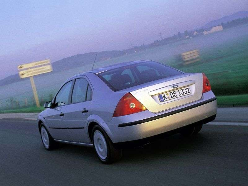 Ford Mondeo 3rd generation 2.0 TDCi 5MT sedan (2002–2003)