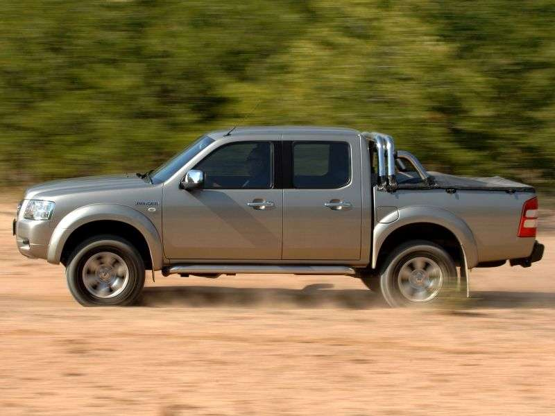 Ford Ranger 3 generation DoubleCab pickup 4 bits. 2.5 TD MT 4x4 (2007–2009)