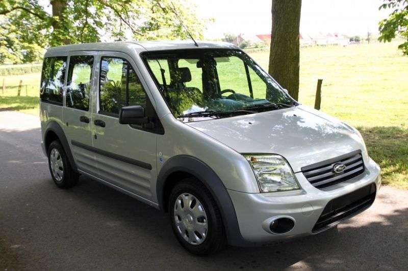 Ford Tourneo Connect 1st generation [restyled] minivan 1.8 TD LWB MT Trend (2009 – n.)