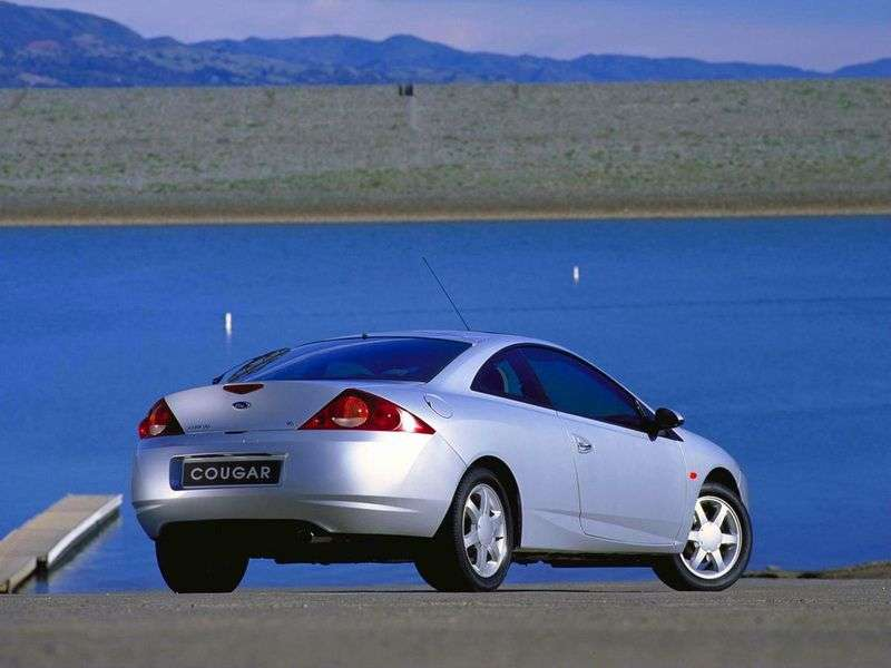 Ford Cougar 9 generation coupe 2.5i MT (1998–2002)