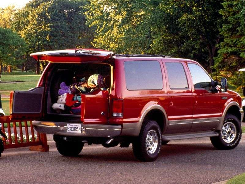 Ford Excursion 1st generation SUV 5.4 AT 4WD (1999–2005)