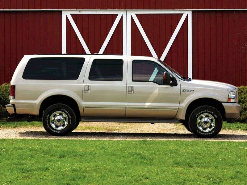 Ford Excursion 1st generation SUV 7.3 TD AT 4WD (1999–2005)