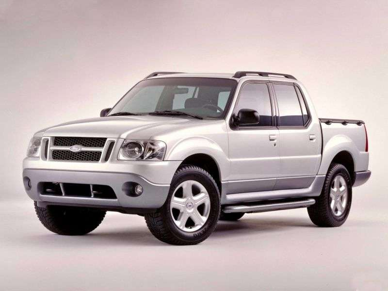Ford Explorer Sport Trac 1st generation pickup 4.0 AT 4x4 (2002–2005)