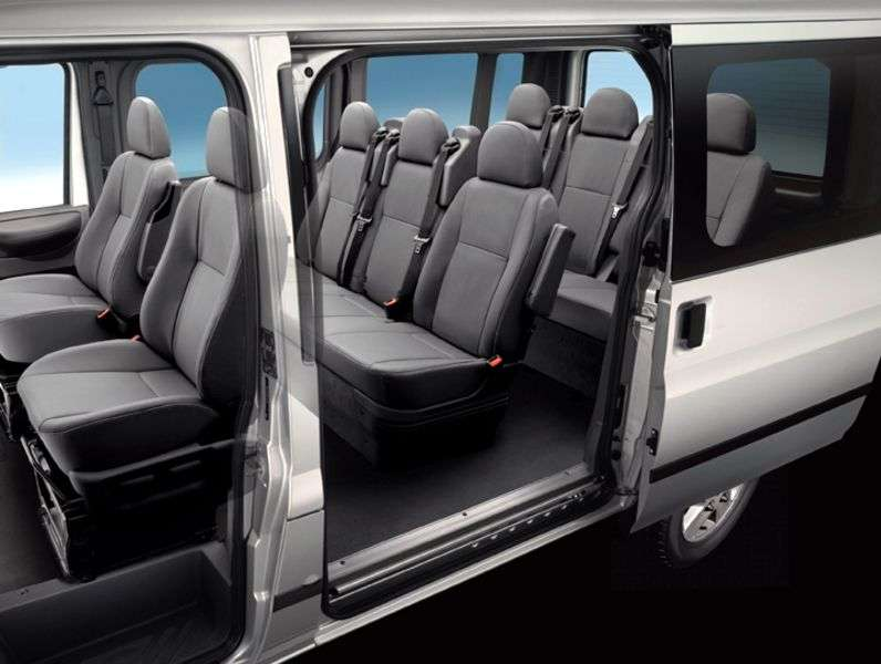 Ford Transit 6th generation Kombi minibus 5 dv. 2.2 TDCi MT FWD 300 SWB Low Roof Base (2006–2013)