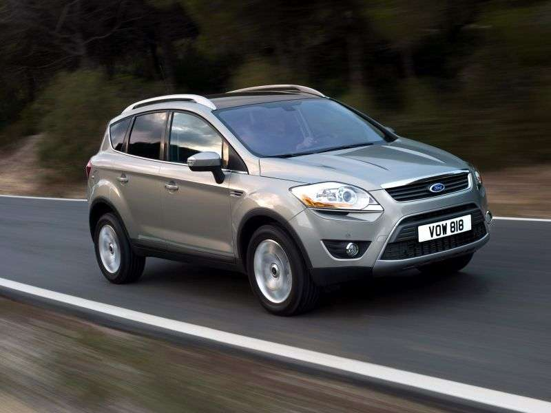 Ford Kuga 1st generation crossover 2.0 TDCi PowerShift AWD Titanium (2010–2013)