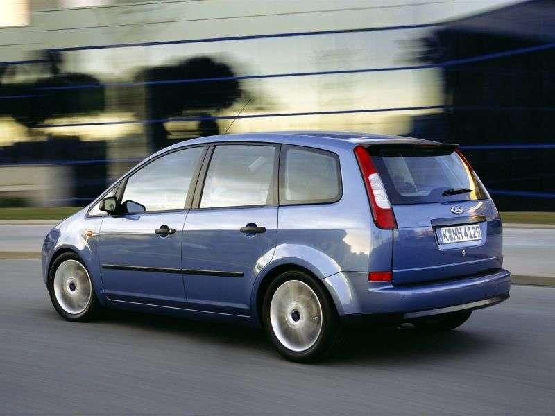 Ford C Max 1st generation minivan 1.6 TDCi CVT (2005–2005)