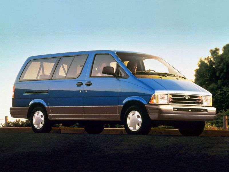 Ford Aerostar 2nd generation minivan 3.0 AT EFI V6 XL (1993–1997)