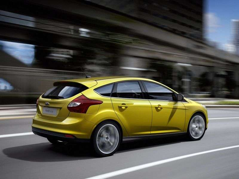 Ford Focus 3 generation hatchback 5 dv. 1.6 TDCi ECOnetic 88 MT (2012 – current century)