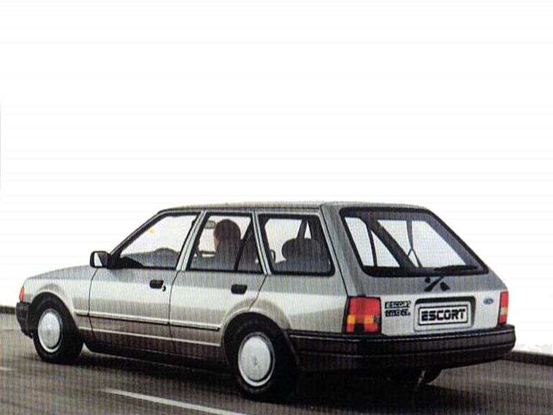 Ford Escort 4 generation wagon 5 bit. 1.6 MT (1986–1987)