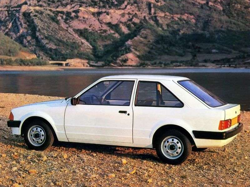 Ford Escort 3 generation hatchback 3 dv. 1.1 MT (1980–1983)