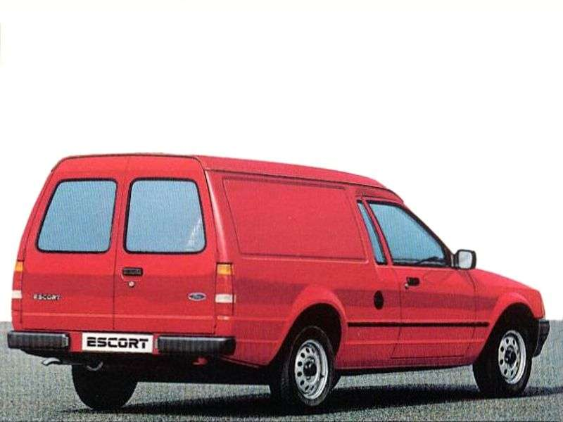 Ford Escort 4 generation Express van 1.4 MT 55 (1988–1990)