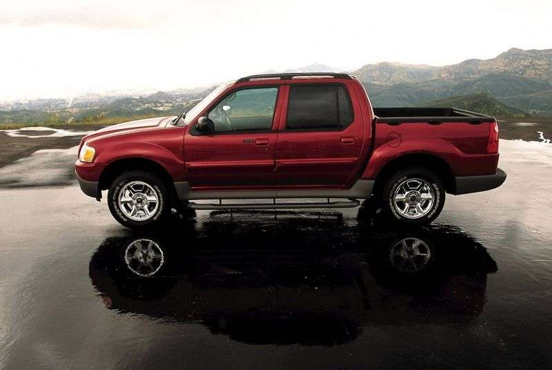 Ford Explorer Sport Trac 1st generation pickup 4.0 MT 4x4 (2001–2002)