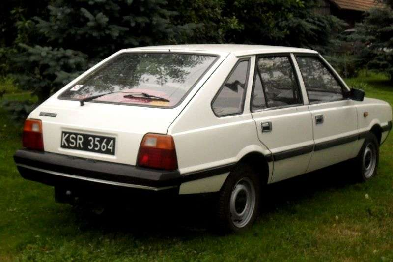 FSO Polonez 1st generation [restyling] 1.5 MT hatchback (1986–1992)