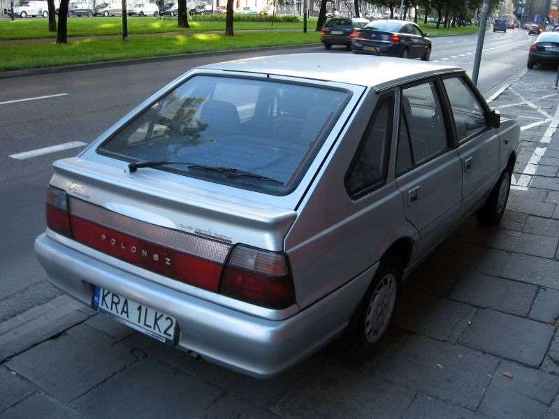 FSO Polonez 2nd generation [restyling] Caro Plus hatchback 1.6 MT GLi (1997–2002)