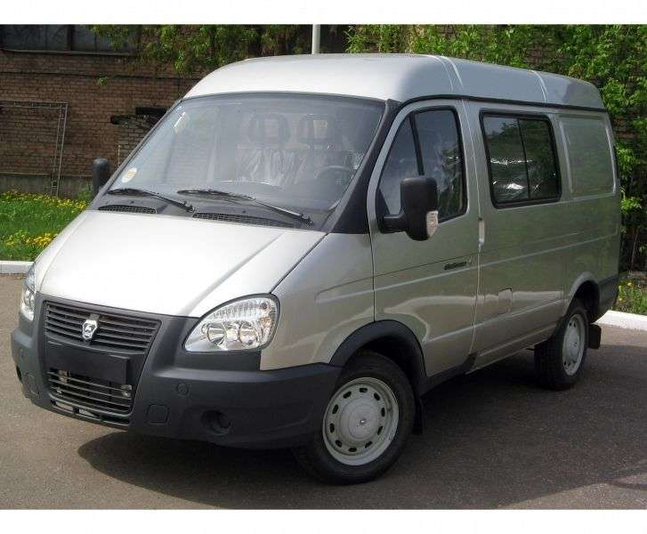 GAZ 2752 Sable Business [2nd Restyling] Combi minibus 27527 2.8 TD MT AWD 27527 369 (2010 – current century)
