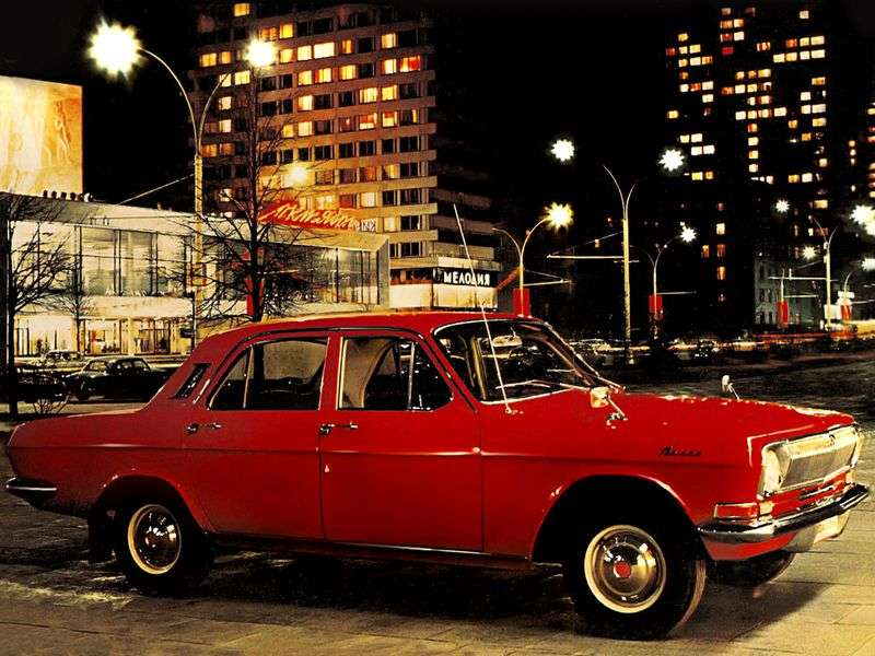GAZ 24 Volga 2nd generation sedan 2.4 AT (1977–1985)