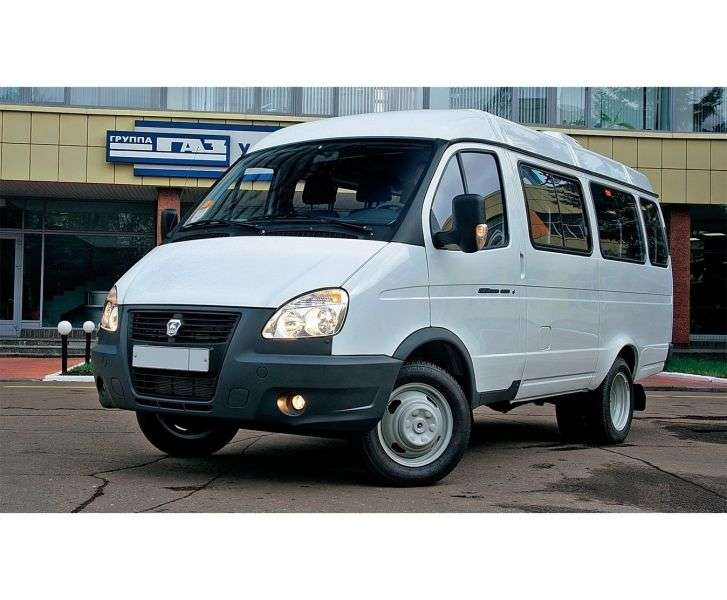 GAZ 3221 Gazelle Business [2nd restyling] minibus 4 dv. 322132 2.8 MT 322132 388 (2010 – current century)