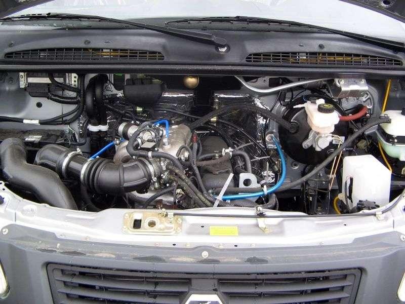 GAZ 2705 Gazelle Business [2nd Restyling] 4 door van. 2705 2.8 TD MT 2705 344 (2010 – n. In.)