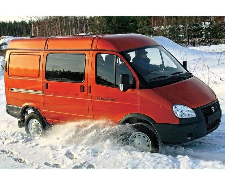 GAZ 2752 Sable Business [2nd restyling] Combi minibus 27527 2.9 MT AWD 27527 296 (2010 – current century)