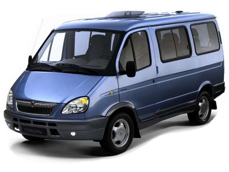 GAZ 2217 Sable Barguzin 1st generation [restyling] 2217 minivan 2.3 MT (2003–2010)