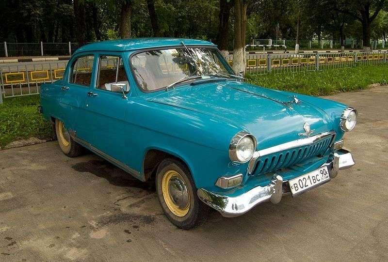 GAZ 21 Volga 1st generation sedan 2.4 AT (1957–1965)