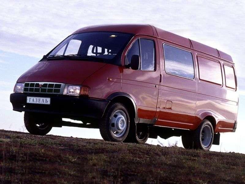 GAZ 2705 Gazelle Combi minibus pierwszej generacji 2.4 MT (1995 2003)