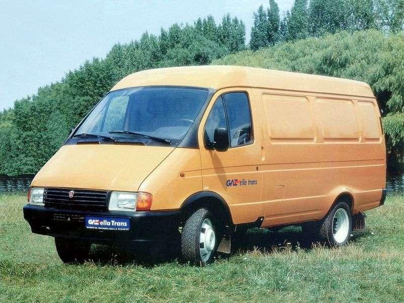 GAZ 2705 Gazelle 1st generation van 2.3 MT (1995–2003)