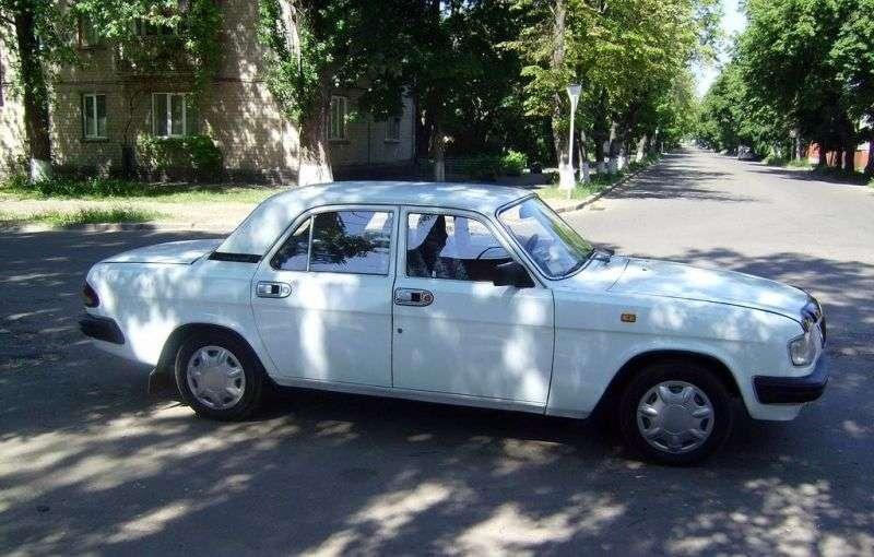 GAZ 3110 Volga sedan pierwszej generacji 2.4 MT (1997 2005)
