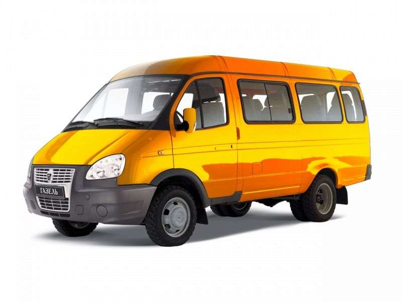 GAZ 3221 Gazelle Business [2nd restyling] minibus 4 dv. 322132 2.8 MT 322132 349 (2010 – current century)