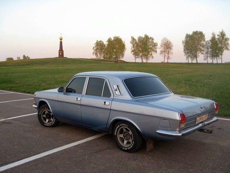 GAZ 24 Volga 3rd generation sedan 2.4 MT (1986–1992)