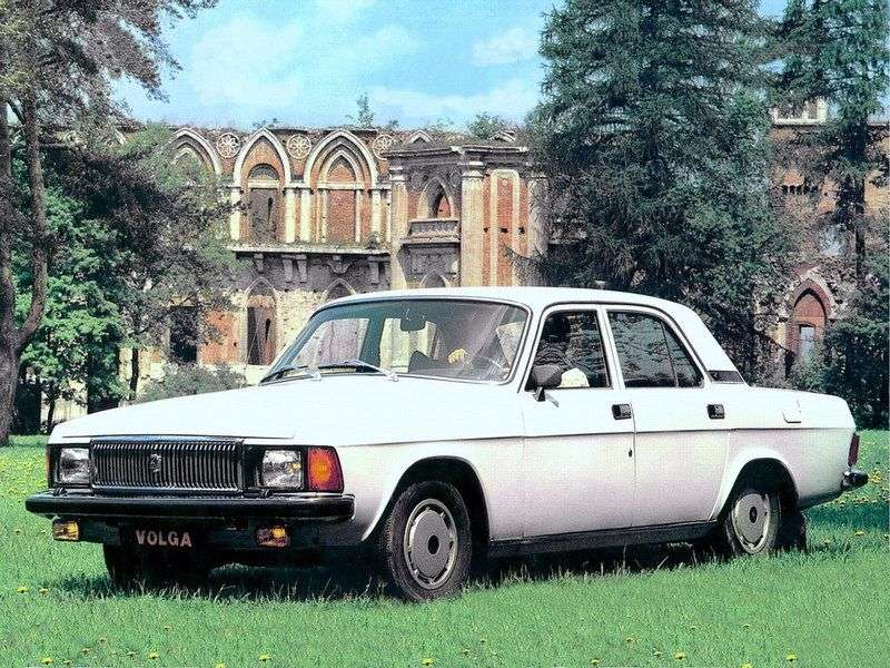 GAZ 3102 Volga 1st generation 2.4 MT sedan (1982–2009)